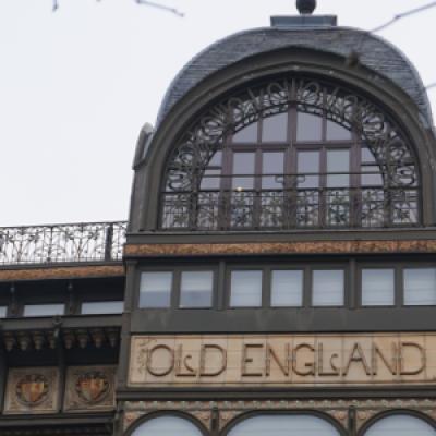 Ehemaliges Kaufhaus Old England