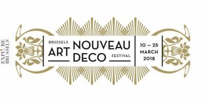 The Brussels Art nouveau & Art Deco Festival 2018 : important dates